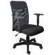 Cadeira Diretor Tela Crepe - Base Preta