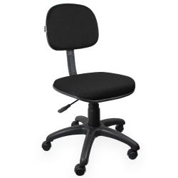 Cadeira Secretária Preta ULTRA Móveis - HOME OFFICE