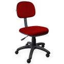Cadeira Secretária Jserrano Vermelho - ULTRA Móveis
