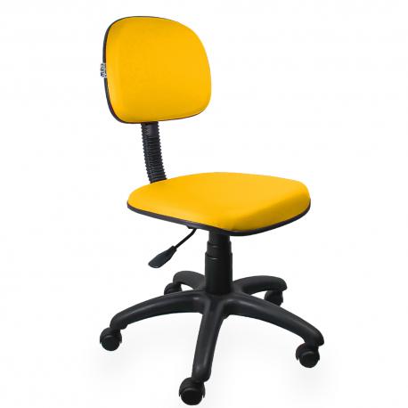 Cadeira Secretária Amarela