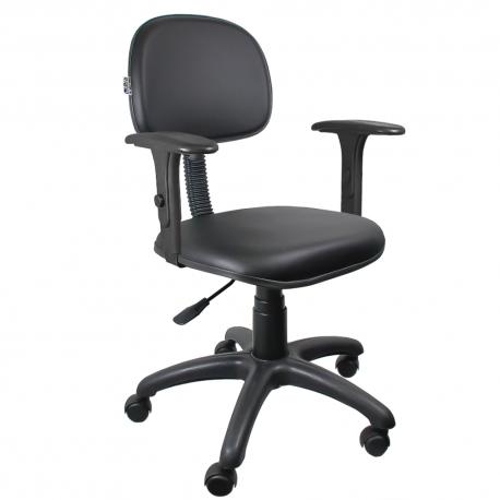 Cadeira Secretária Couro Ecológico