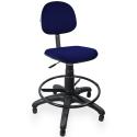Cadeira Caixa Executiva Jserrano Azul com Preto - ULTRA Móveis