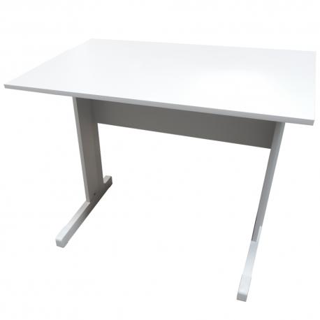 Mesa Para Escritório 90x75x60 Platina Standard