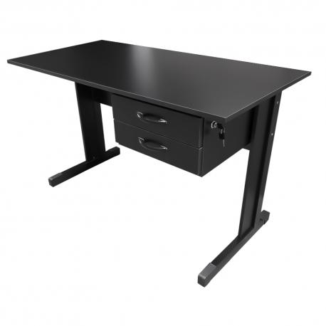 Mesa Para Escritório 1,20 x 0,75 x 0,60 Preta Standard