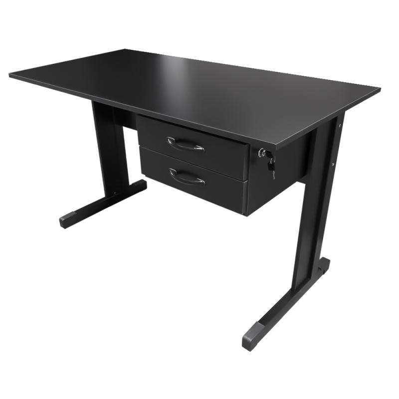 Mesa para escrit rio 1 20 x 0 75 x 0 60 preta standard - Mesa de escritorio ...