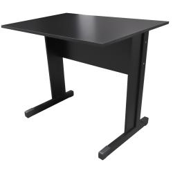 Mesa Para Escritório 90x75x60 Preto Standard