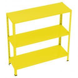 Estante De Aço Mini Flex Amarela