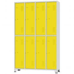 Roupeiro GRP 2/8 Porta Amarela - CHAPA 26