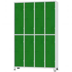 Roupeiro GRP 2/8 Porta Verdes - CHAPA 26