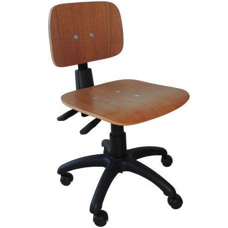 Cadeira Costureira Ergonômica Com Rodízio